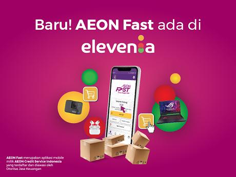 AEON Fast Sekarang Ada di Elevenia