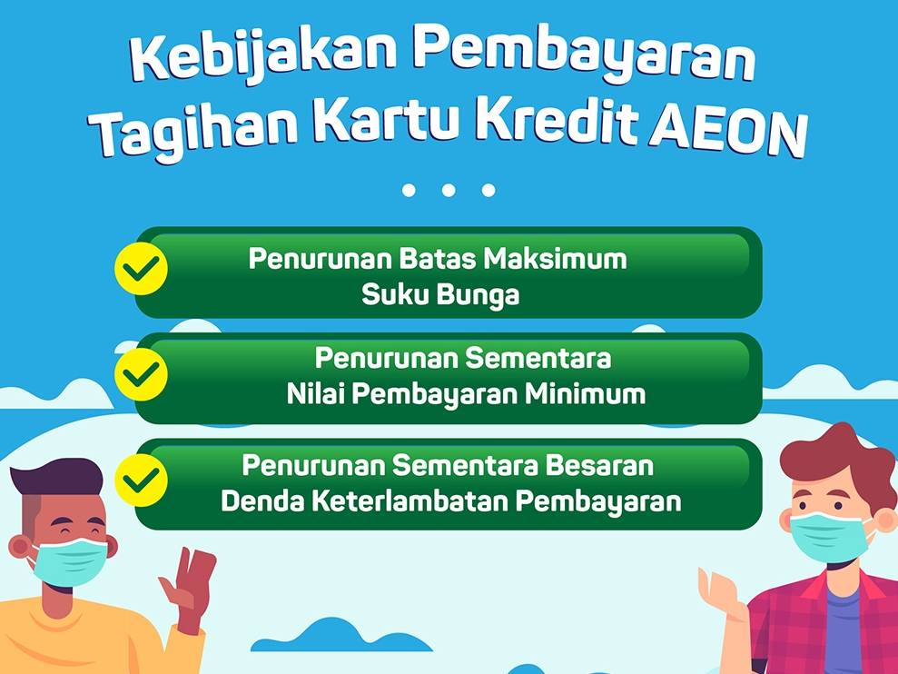 PENGUMUMAN KEBIJAKAN PERUBAHAN SEMENTARA BIAYA & TARIF KARTU KREDIT EFEKTIF 1 MEI 2020 SEHUBUNGAN DENGAN PANDEMIK COVID-19 & KEBIJAKAN BANK INDONESIA