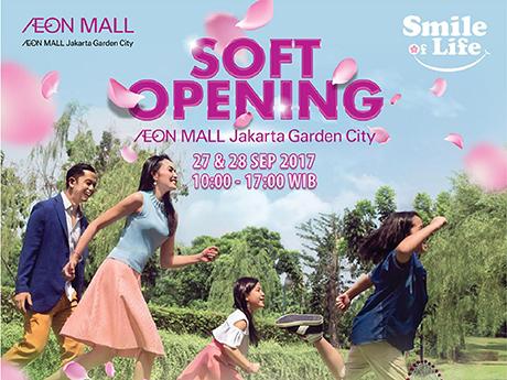 Soft Opening AEON Mall Jakarta Garden City