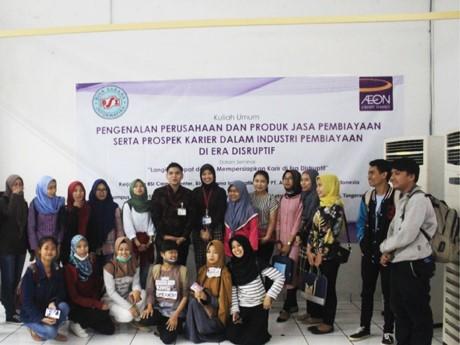 PT. AEON Credit Service Indonesia Kembali Bekerja sama dengan Bina Sarana informatika dalam Penyelenggaraan Seminar Literasi Keuangan bagi Mahasiswa Amik BSI BSD Tangerang (24 Mei 2018)